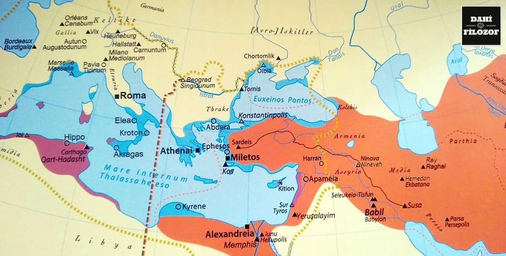 M.Ö 5.yy Haritası